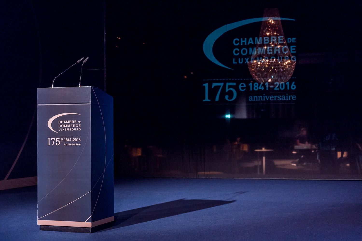 Shine a light agence évènementielle luxembourg - créateur d'expériences immersives - anniversaire corporate Chambre de Commerce Luxembourg