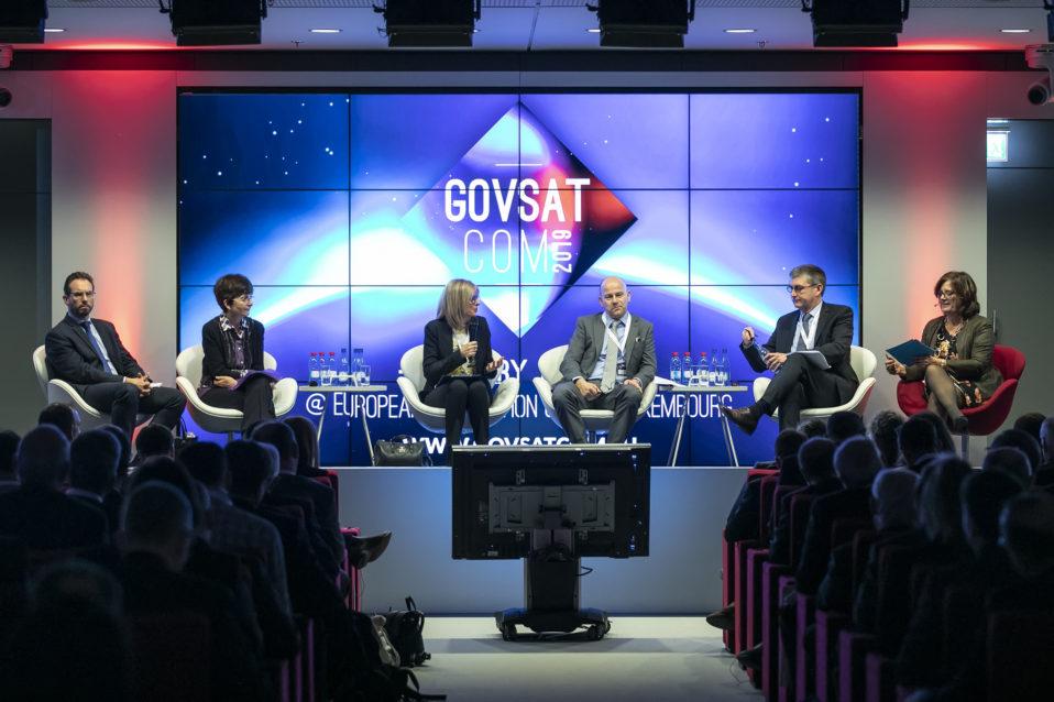 Shine a light agence évènementielle luxembourg - créateur d'expériences immersives - Conférence annuelle GOVSATCOM