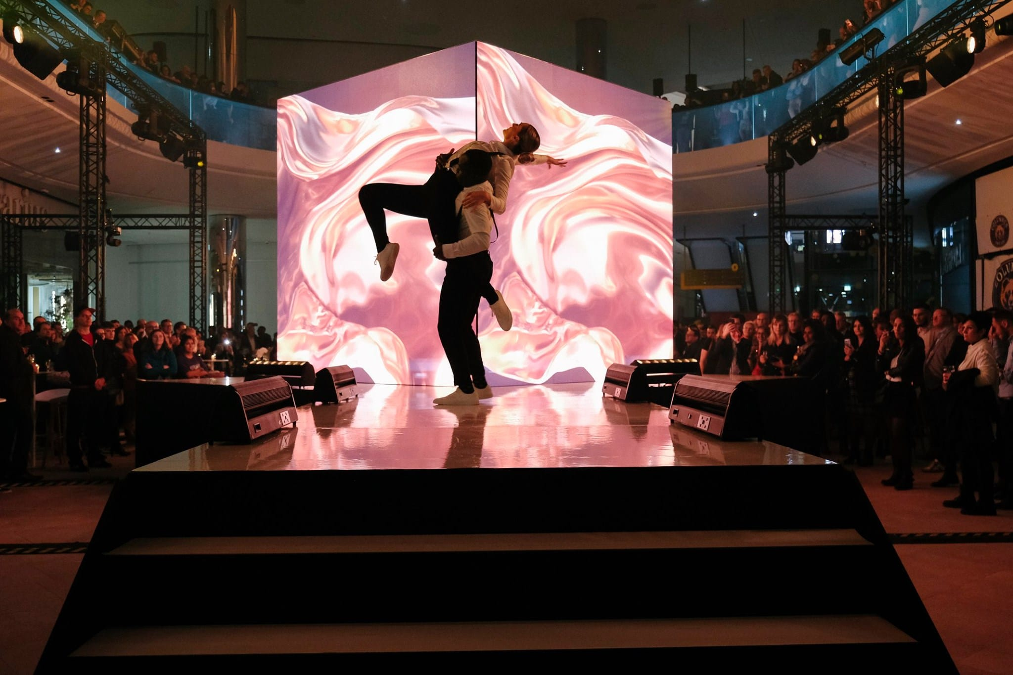 Shine a light event agency Luxembourg - Creates immersives experiences - Inauguration Cloche d'or