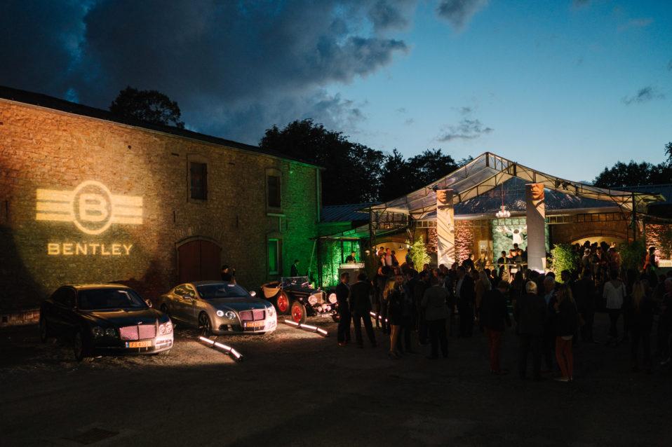 Shine a light agence évènementielle luxembourg - créateur d'expériences immersives - Heintz van Landewyck Lancement gamme Bentley
