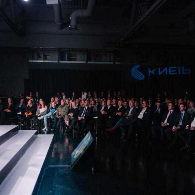Shine a light agence évènementielle luxembourg - créateur d'expériences immersives - Lancement plateforme KNEIP